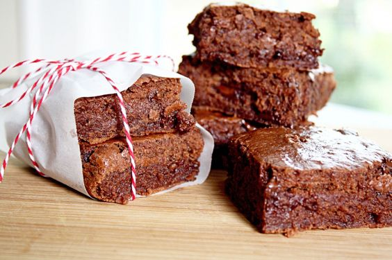 Low-fat  {almost no-fat} FudgeBrownies. These sound great!