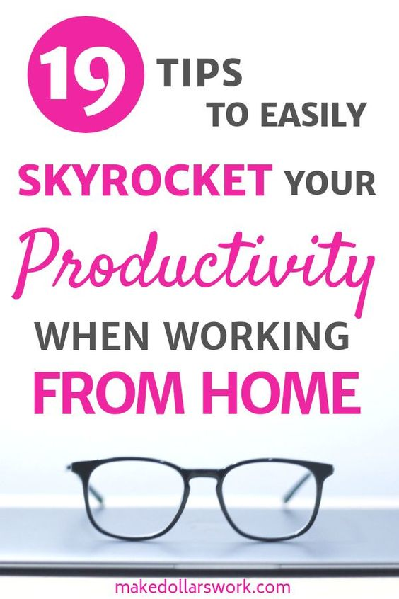 Remote Work Tips 59197