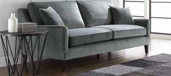 Hanover Sofa in Granite Fabric   101133-SUNPAN   Sunpan