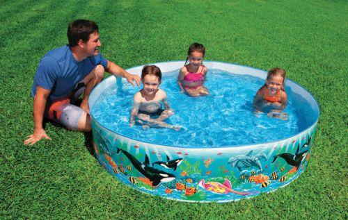 Inflatable And Kid Pools 116407 Intex Snapset Pool 6 Ft Dia X 15