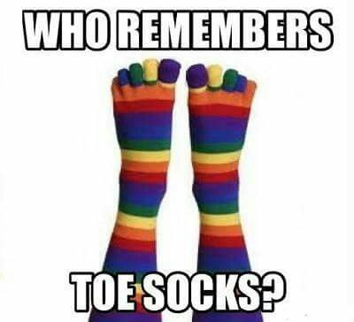 Toe socks