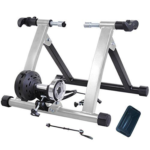 Heavy Steel Indoor Magnetic Bike Bicycle Trainer Stand w/ 8 Resistance Levels, Multi Colors ** Find out more details @ http://www.amazon.com/gp/product/B0191GXZ5A/?tag=fitnessztore-20&pbc=100816095821