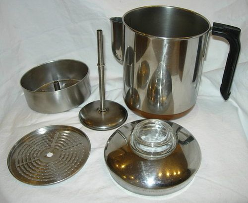 old coffee makers...percolator..I was young but my grandmother had one of these Nostalgia: 60 ...