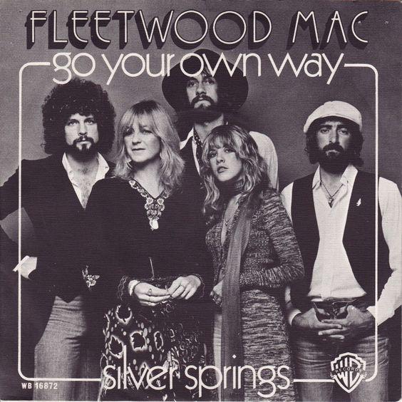 Fleetwood Mac – Go Your Own Way (single cover art)