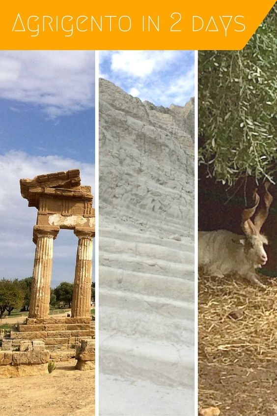 Two-day Itinerary for visiting Agrigento including the Valley of the Temples, Scala dei Turchi, Eraclea Minoa beaches and a short list of local restaurants