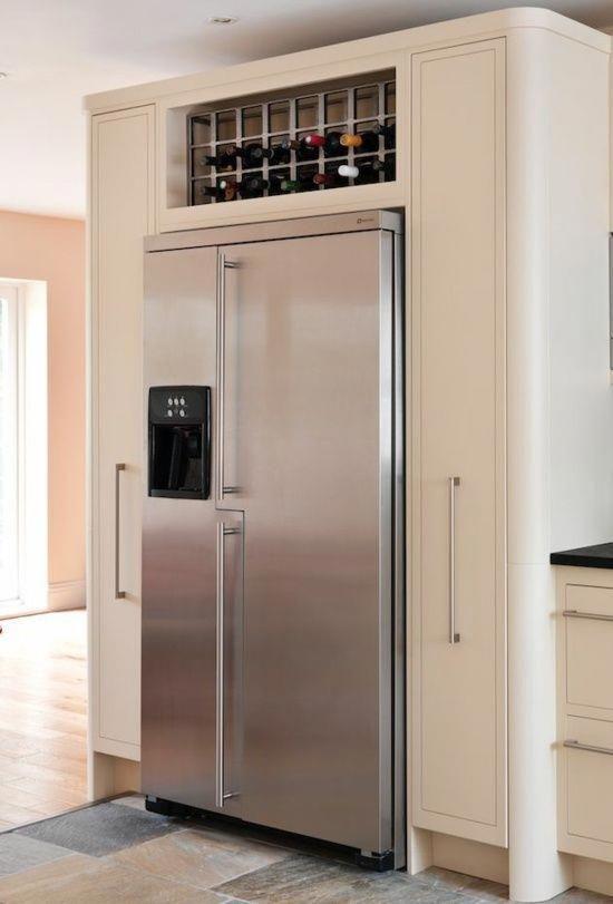 Kitchen Layout Refrigerator Storage Smitten Kitchen Refrigerators Art American Fridge American Fridge Freezers Kitchen Plans