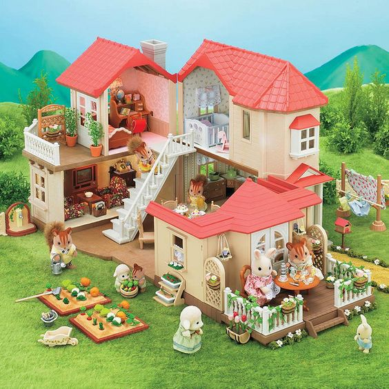 Sylvanian Families: City House w/ Lights! have :):
