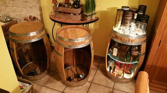 Die Selbst Gebaute Fassbar Regal Bauen Whisky Regal Flaschen Regal