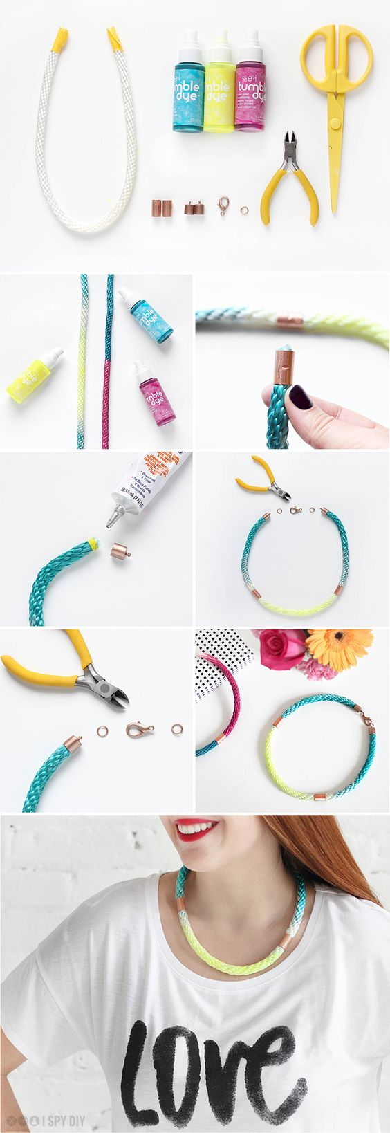 ONE MATERIAL, TWO WAYS | Cotton Rope | I SPY DIY