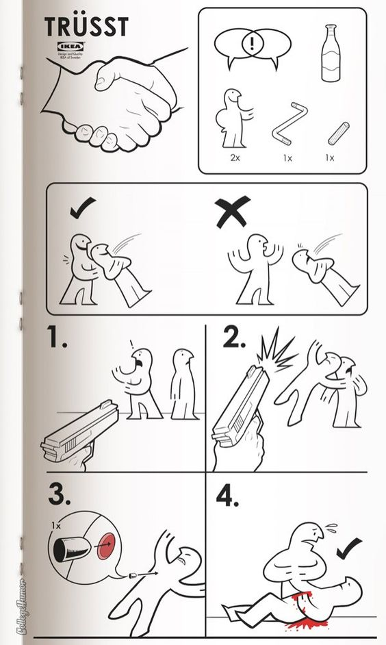 What do these instructions mean?