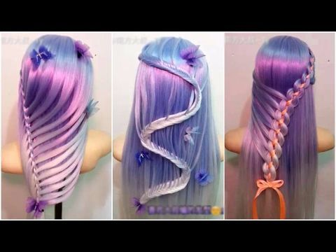 Unicorn Hairstyle Tutorial For Halloween Or Crazy Hair Day Youtube Diy Hairstyles Unicorn Hair Crazy Hair Days