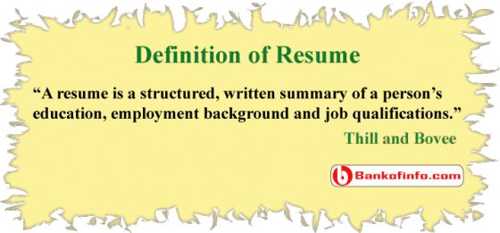 Resume Definition Job 8 Best Jobs And Careers Images On Pinterest  Interview