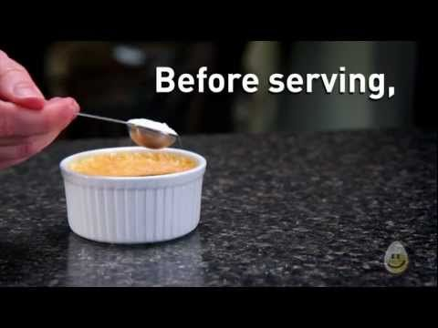 In this video we show you how easy it is to make Crème Brûlée   How-To Videos   Egg Farmers of Canada #GetCracking #Eggs
