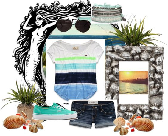 """Beach Bound"" by weston17 ❤ liked on Polyvore"