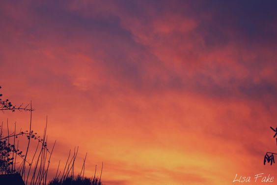 #Sonnenuntergang #Colors #Farbspiel