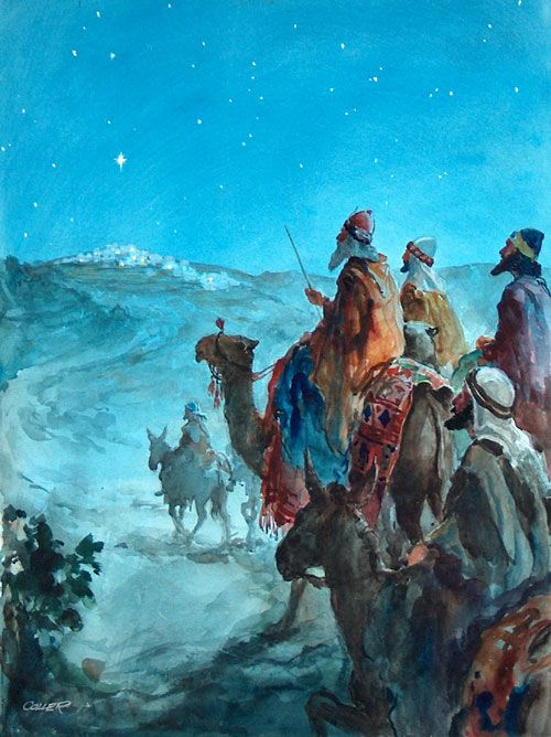 On January 6 the Church celebrates the feast of 'Epiphany.'   This feast commemorates the mysterious visit of the magi to the Baby J...