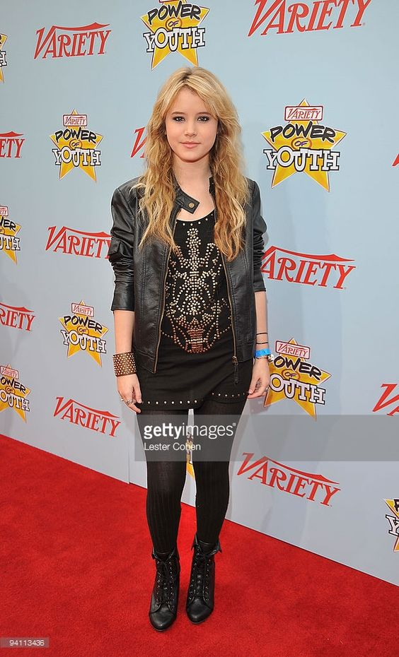 Actress Taylor Spreitler arrives at Variety's 3rd annual 'Power of Youth' event…