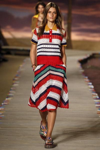 Tommy Hilfiger Spring 2016. See the entire collection on Vogue.com
