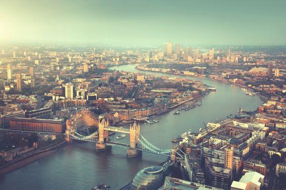 River Thames London Wallpaper