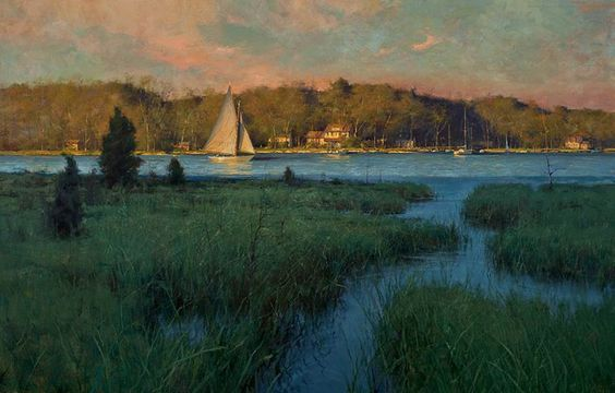 Light Beyond the Marsh by Donald Demers