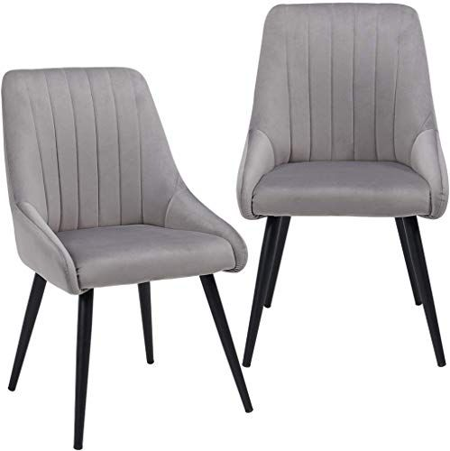 New Duhome Accent Chairs Set 2 Living Room Modern Side Chair