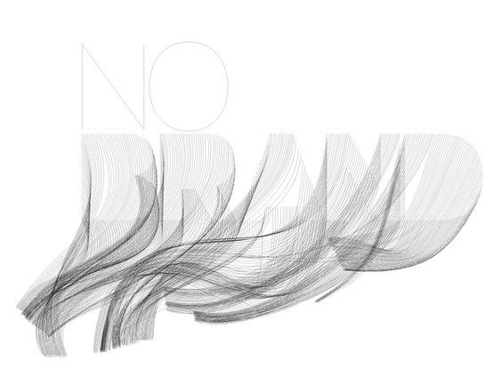 logo / No Brand Identity by Ryan Atkinson, via Behance