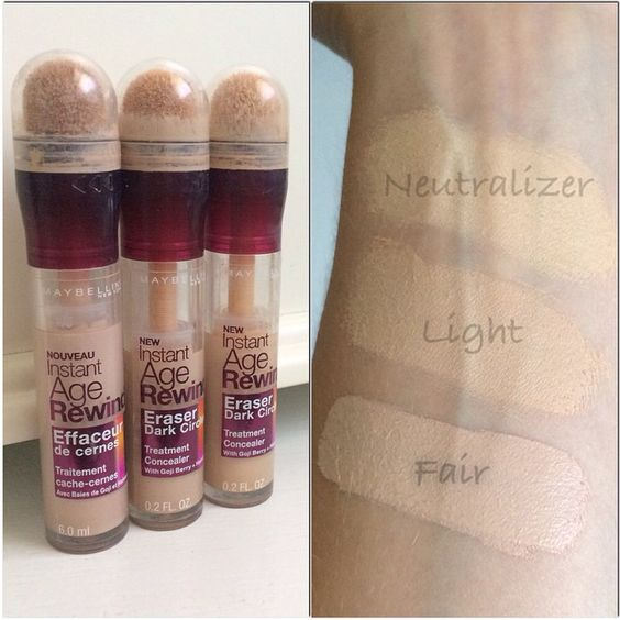 Maybelline Instant Age Rewind Concealer Follow My