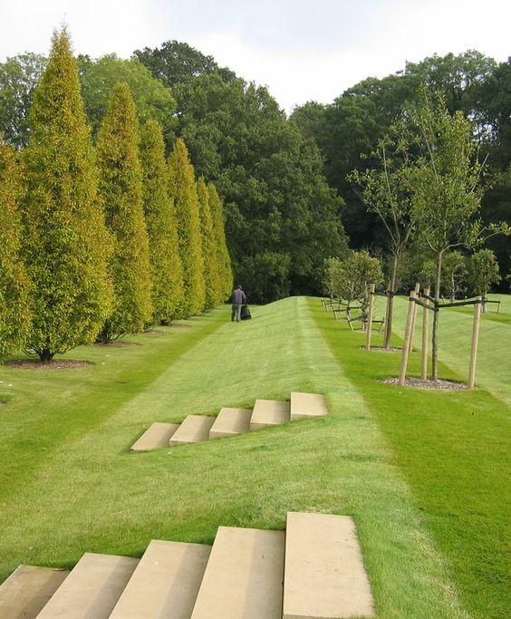 English Country House - Site Walk   Edmund Hollander Landscape Architects