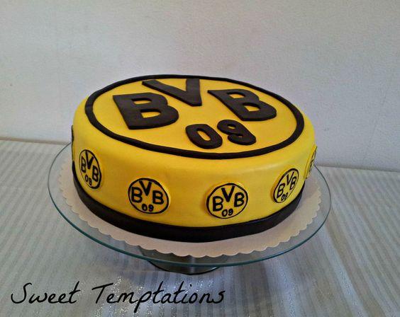 birthday cake for a big borussia dortmund fan, it`s a german