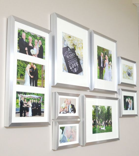 Wedding Gallery Wall
