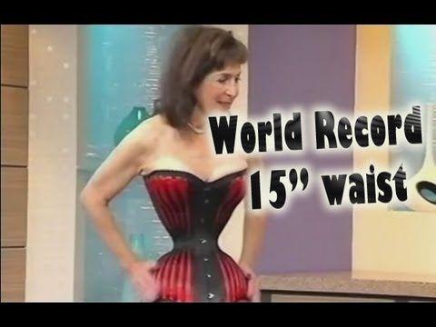 Cathie Jung : smallest waist in the world | Smallest waist ...