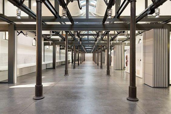 ex mattatoio di Roma, spazi didattici Università Roma 3 - Insula architettura e ingegneria #conversion