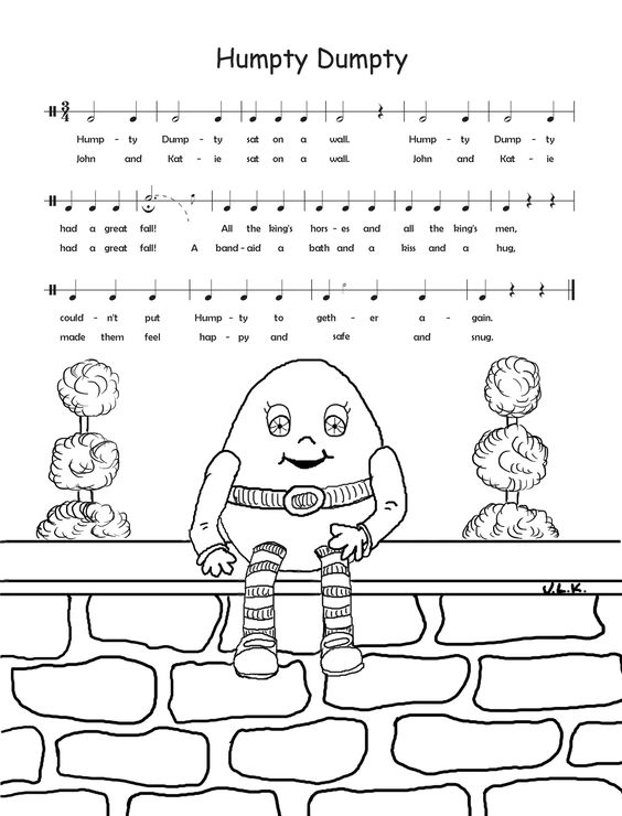Free Downloadable Music Coloring