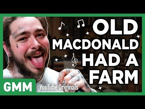 8 Post Malone Nursery Rhyme Raps Youtube Nursery Rhymes Rhymes Good Mythical Morning