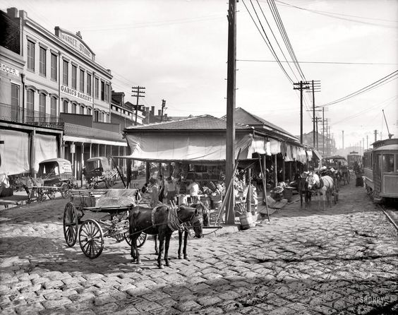French Market early 1900s