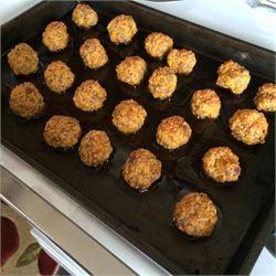 Carla's Sausage Cheese Balls - Allrecipes.com