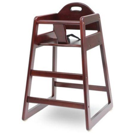 LA Baby Solid Wood High Chair, (Choose your Finish)