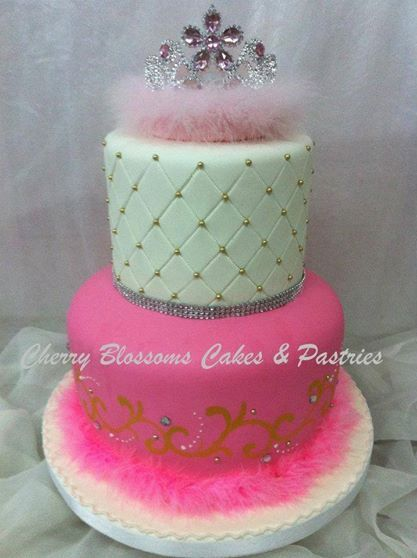 Before I Do Bridal Fair Series: Simple Princess cake made by Cherry Blossoms Cakes and Pastries.    www.beforeidobridalfair.com #beforeidobridalfair, #beforeidobridalfairexhibitor #bridalfair #weddingfair #weddingexpo #wedding #debut #weddingprenup #weddingpreparation #partyplanning #eventplanning #cake, #weddingcake, #birthdaycake #cherryblossomscakes, #philippineweddings