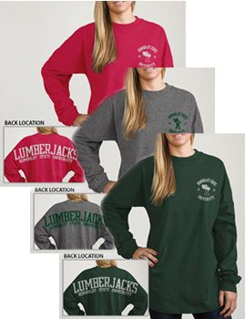 Humboldt State University Women's Football Long Sleeve T-Shirt | Humboldt State University