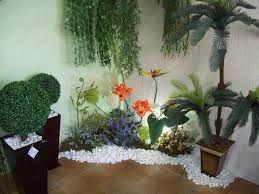 Resultado de imagem para decoração de jardim de inverno pequeno