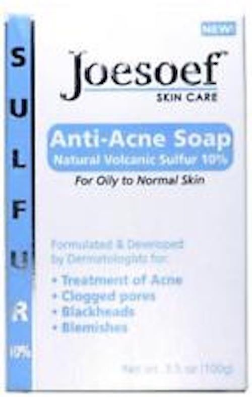 Joesoef Anti Acne Soap Natural Volcanic Sulfur 10 For Oily To Normal S New Anti Acne Acne Soap Anti Acne Soap