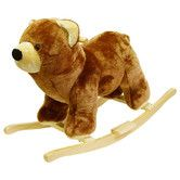 Found it at Wayfair - Bear Plush Rocking Animal