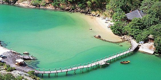 Ponta dos Ganchos near Florianopolis in Santa Catarina, Brazil #MyEscapeCompetition