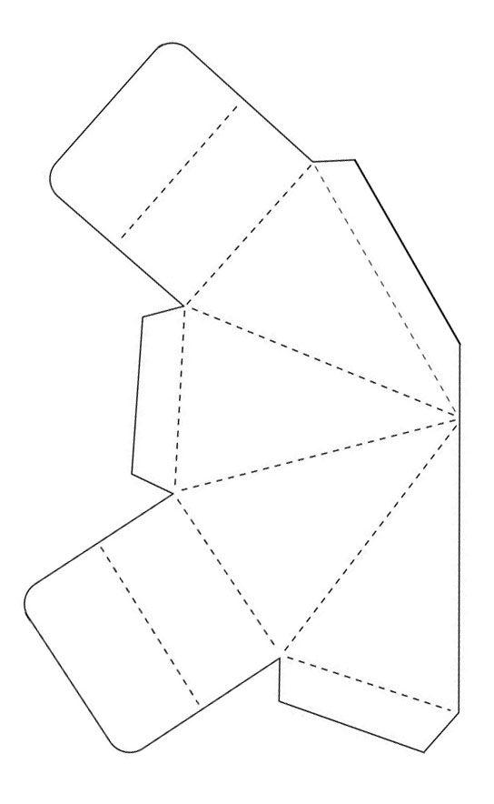 Pyramid Box Template Pyramid Box Box Template Pyramids