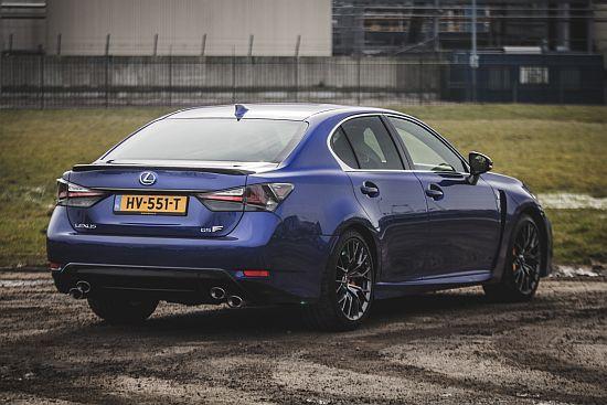 Lexus GS-F: rijtest en video