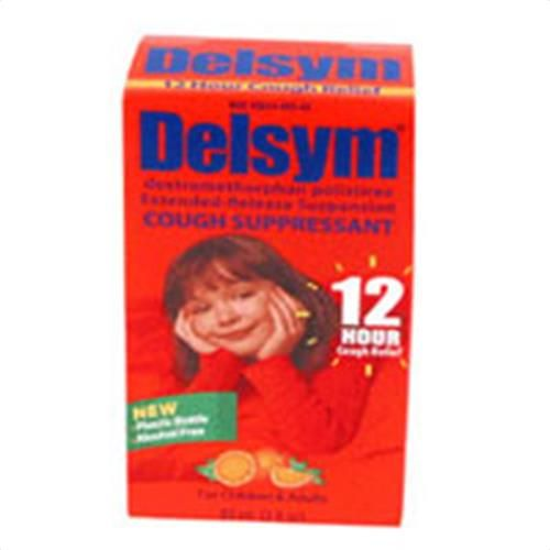 Buy Now Delsym extended release suspension cough suppressant for children - 3 oz. Delsym extended release suspension cough suppressant provides fever reducer or pain reliever  | myotcstore.com - Ezy Shopping, Low Prices & Fast Shipping.