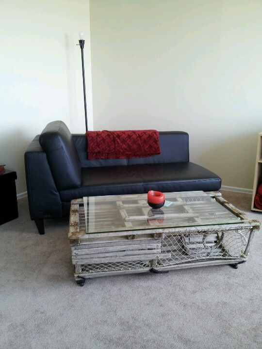 Lobster Trap Coffee Table House Diy Pinterest Lobster Trap Coffee Tables And Lobsters