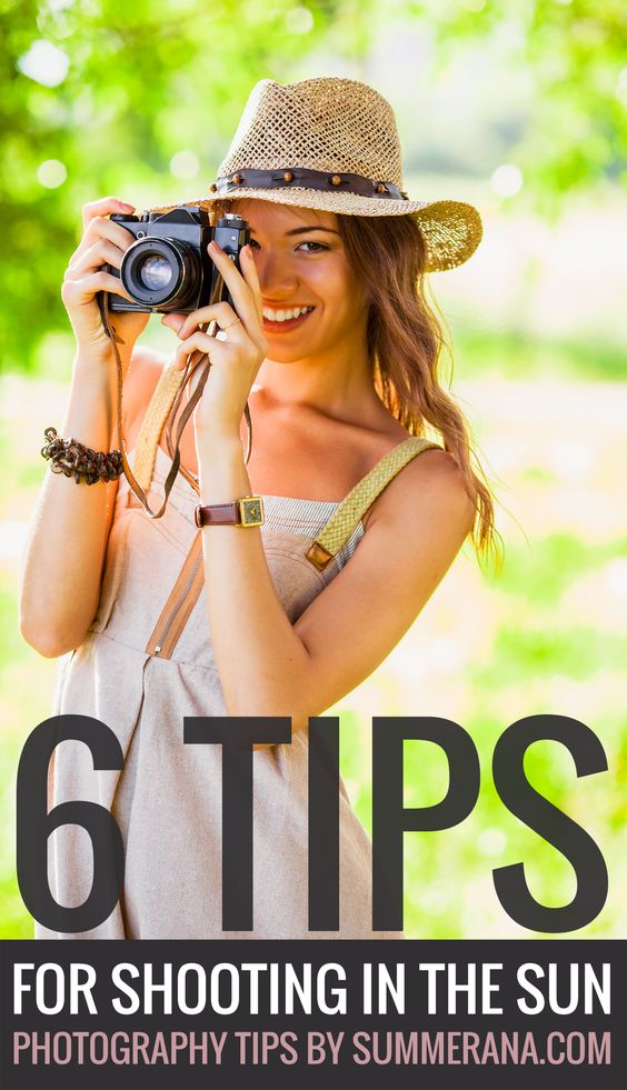 6 Tips for Shooting in the Sun | Summerana - Photoshop Actions for Photographers  Shooting in the sun can seem daunting at first, and it can be a challenge for your outdoor client sessions if you aren't well prepared. But once you have mastered the following tips on how to shoot in the sun, you will start to look for new opportunities to expand your artistic capability (no matter where the sun may be!) and with confidence.  Read them here: http://summerana.com/6-tips-for-shooting-in-the-sun/