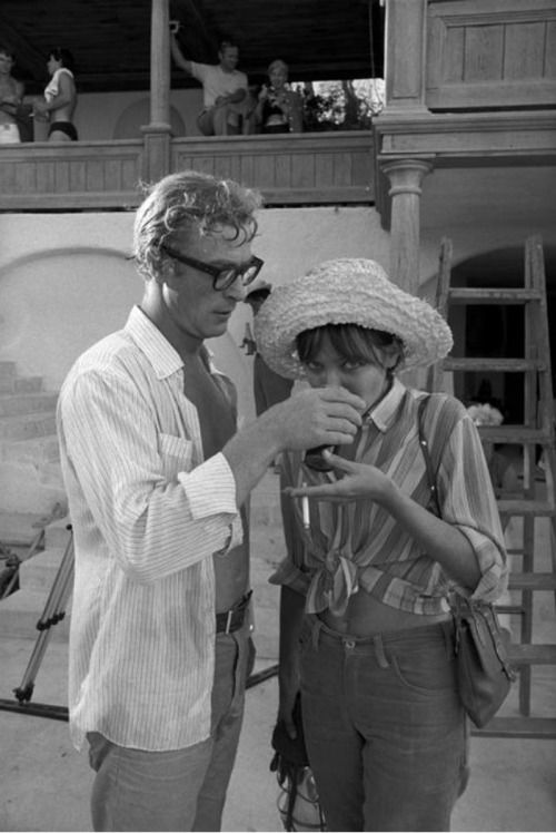 Caine and Karina, 1968