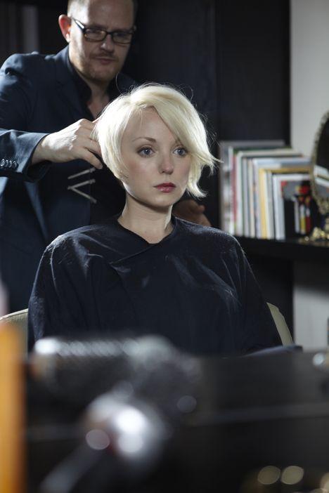 Helen George short haircut